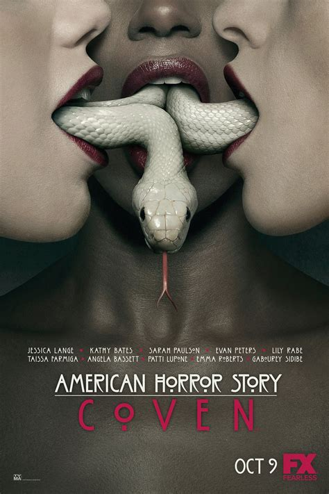 american horror story american horror story coven poster previews the union of the snake photo the