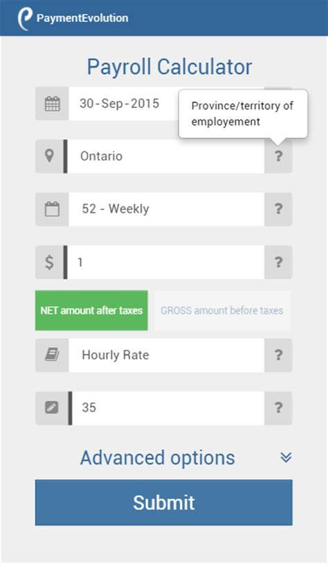 wages calculator take home pay calculator hourly ontario home review