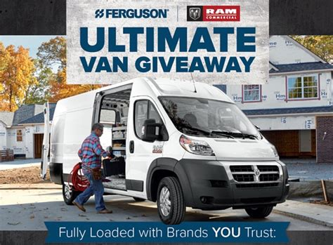 Van Giveaway - ferguson enterprises ram ultimate van giveaway sweepstakesbible