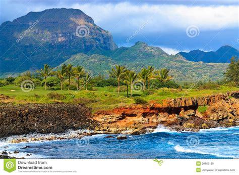scenic view mahaulepu heritage trail kauai royalty