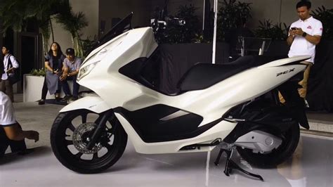 Pcx 2018 Non Abs by Abs White All New Honda Pcx 150 2018