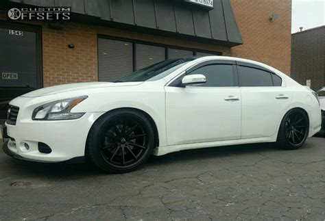 nissan maxima coilovers wheel offset 2013 nissan maxima tucked coilovers
