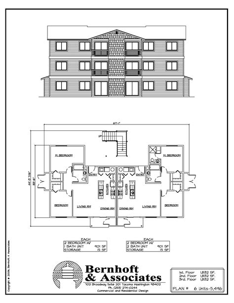 12 unit apartment building plans newest apartment plans 6 12 18 unit plans