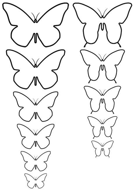Plantillas De Mariposas Para Pintar En Pared Imagui | 17 mejores ideas sobre mariposas de papel en pinterest