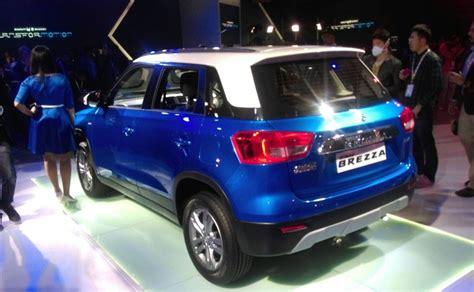 Maruti And Suzuki Auto Expo 2016 Maruti Suzuki Vitara Brezza Unveiled