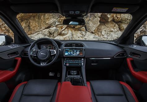 jaguar f pace inside 2017 jaguar f pace reviews and rating motor trend