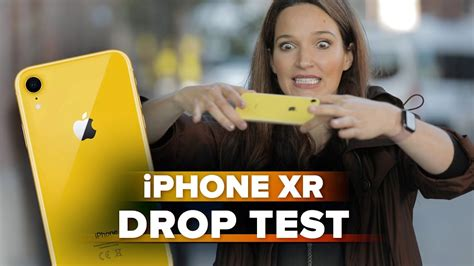 iphone xr drop test how tough is the glass