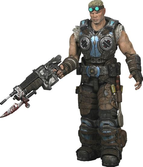 b carmine figure neca revealed gears of war clayton carmine figure the