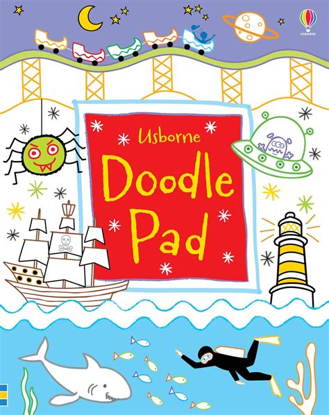 doodle home doodle pad at usborne books at home