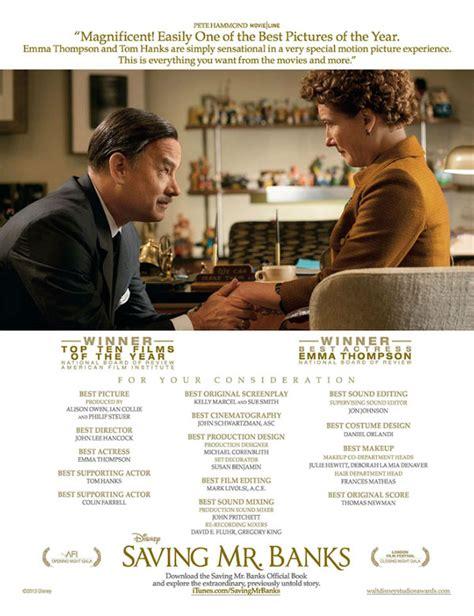 Watch Saving Mr Banks 2013 Full Movie Film Actually Oscar Watch Saving Mr Banks
