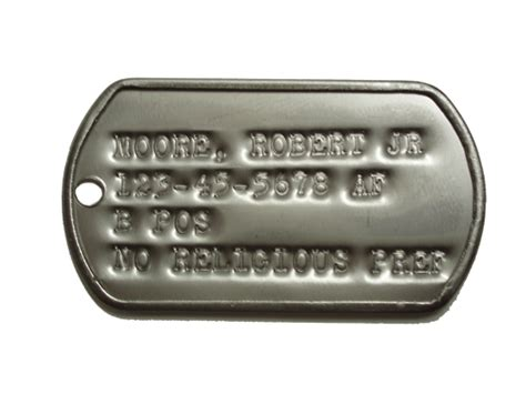 us army tags tags format