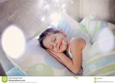 In Bed by Boy In Bed Stock Image Image 28252381