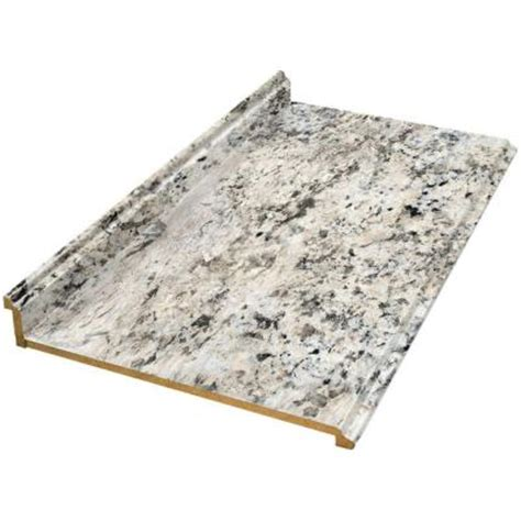 Home Depot Kitchen Countertops Laminate valencia 10 ft laminate countertop in typhoon