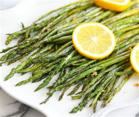 Would You Rather Eat Asparagus Or Broccoli by Lemon Garlic Roasted Asparagus Kirbie S Cravings
