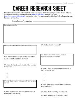 College Research Worksheet Pdf