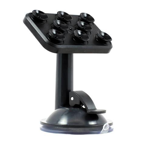 Mount Car Suction Holder Black wholesale smart phone suction cups car mount holder black