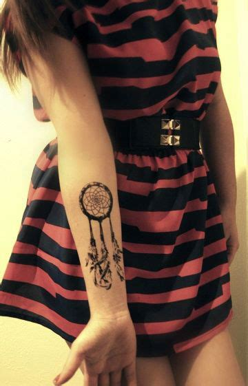 dreamcatcher tattoo inside arm 30 awesome inner forearm tattoo ideas