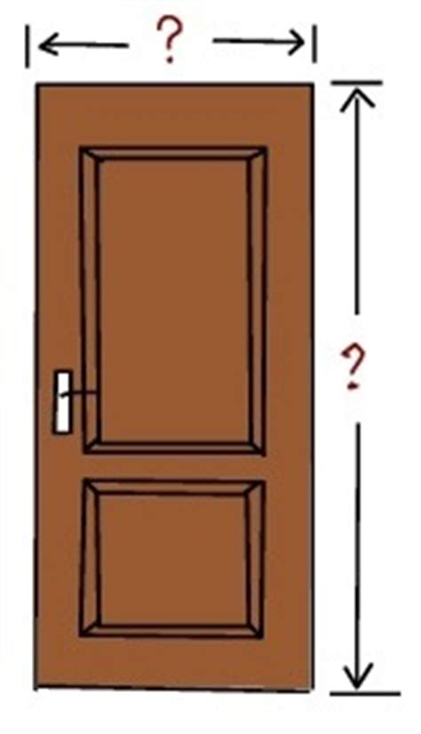 most common interior door size what is the width and height of an average door quora