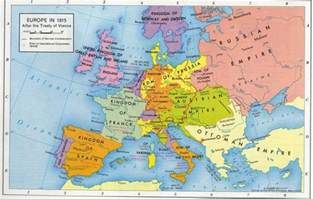 Map Of Europe 1815 by Syllabus History 466 Unlv