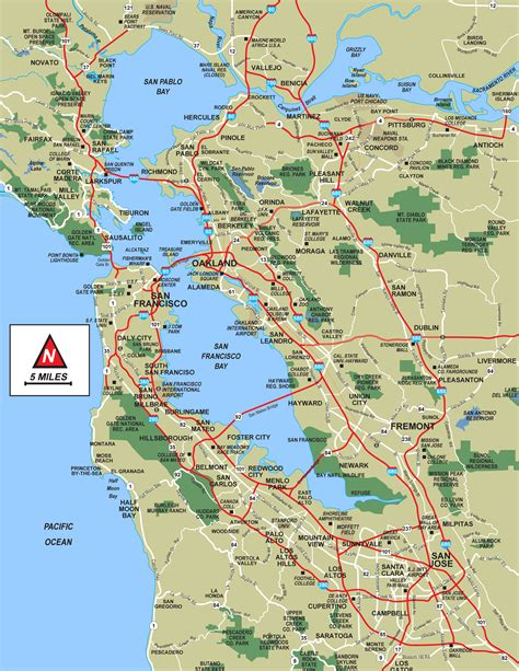 Bay Area Of The Week 34 by San Francisco Bay Topographic Map My
