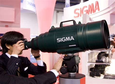 image gallery sigma 1000mm digdia pma 2008 free photos comments