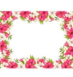 flower border free cliparts co