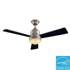 hton bay ceiling fans reviews hton bay 42nd 52 in brushed nickel polished