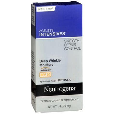 Review Neutrogena Moisture Shoo by Neutrogena Ageless Intensives Wrinkle Moisture