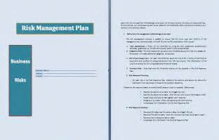 risk management plan template free risk management plan template word templates