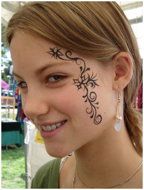 cute face tattoos 40 jaw dropping tattoos that will shock you