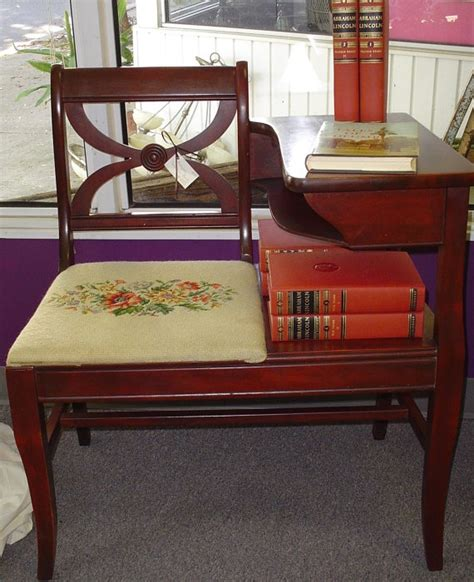 telephone bench seat 102 best images about vintage telephone tables on