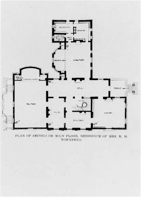 washington floor plan pictures 2 the townsend house the cosmos club washington dc