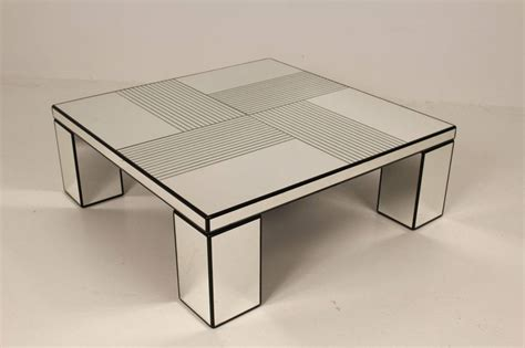 mirror coffee table 1970s for sale at 1stdibs