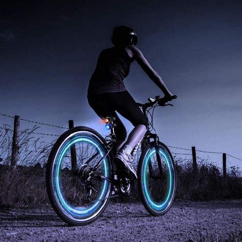 light 2 bike spokelit bicycle light 187 gadget flow
