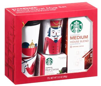 How Much Money Is On My Starbucks Gift Card - walmart holiday beverage and mug gift sets as low as 5