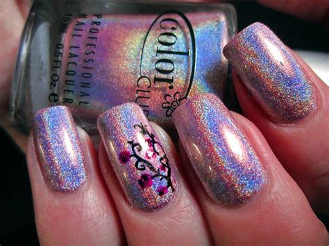 color club cloud nine color club cloud nine swatch with nail