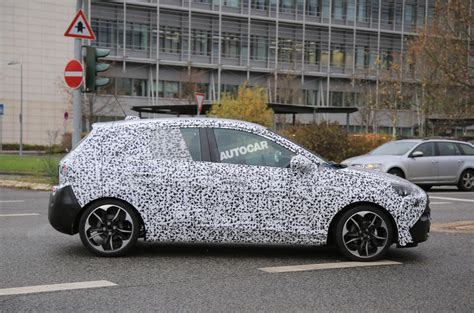 opel corsa hatch 2018 vauxhall corsa hatch spotted with revised interior