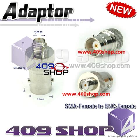 Adaptor Nagoya nagoya na 702bnc dual band antenna sf to bnc adaptor 409shop walkie talkie handheld transceiver