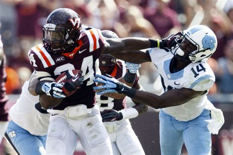 Search In Carolina No 14 Virginia Tech Sets Records In Rout Of Carolina Sportscarolina Monthly
