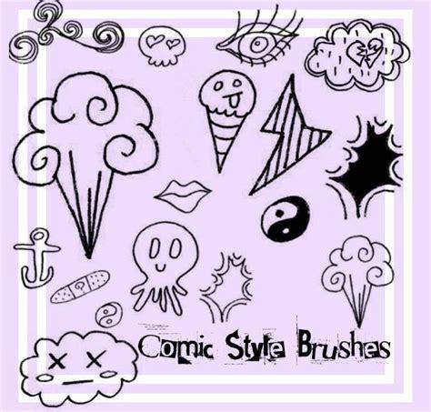 free doodle photoshop 30 free scribble doodle photoshop brush packs