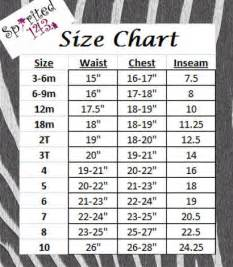Galerry girl clothing size chart by age