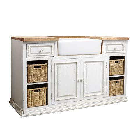 Incroyable Maison Du Monde Meuble Cuisine #1: meuble-bas-de-cuisine-avec-evier-en-manguier-blanc-l-140-cm-eleonore-1000-7-37-122135_12.jpg
