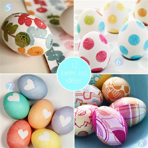 ideas for easter eggs cute easter egg decorating ideas