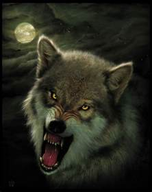 wolf painting nightbreed wolf by wallace on deviantart