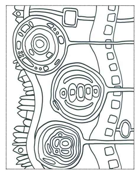 libro hundertwasser colouring book colouring free hundertwasser coloring pages