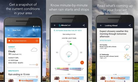 accuweather app for android 10 best weather apps for android in 2017