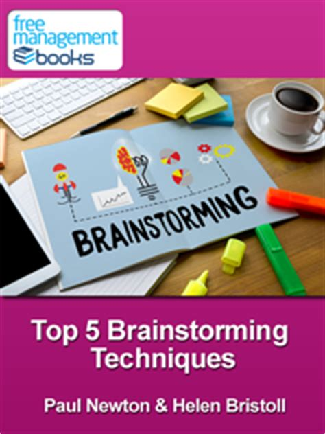 best brainstorming techniques top 5 brainstorming techniques free ebook in pdf format