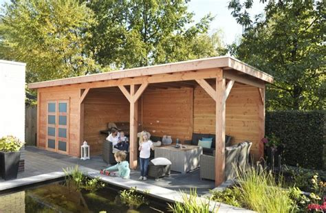 luifel tuinhuis douglas tuinhuis roek 300 x 300 met luifels brand solide