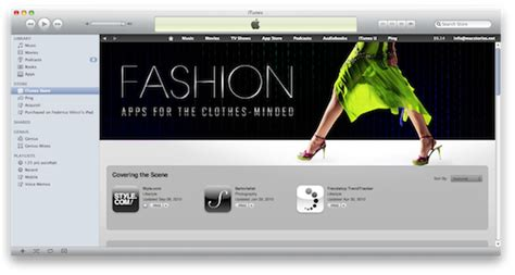Myspace Launches Beta Fashion News Section by Apple Launches Fashion Section In The App Store Macstories