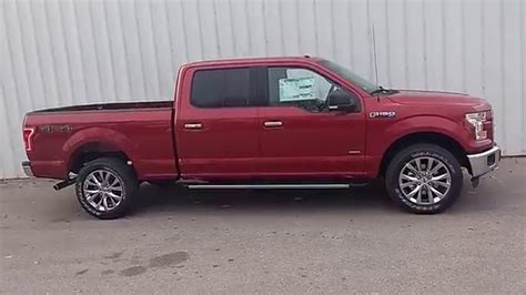 ford f150 long bed ruby red 2016 f 150 supercrew 4x4 xlt 3 5l ecoboost 302a